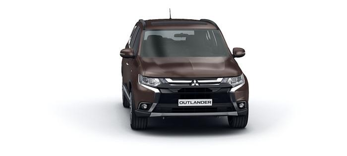 Mitsubishi Обновленный Outlander 2.0 CVT 4WD (146 л.с.) Invite 4WD