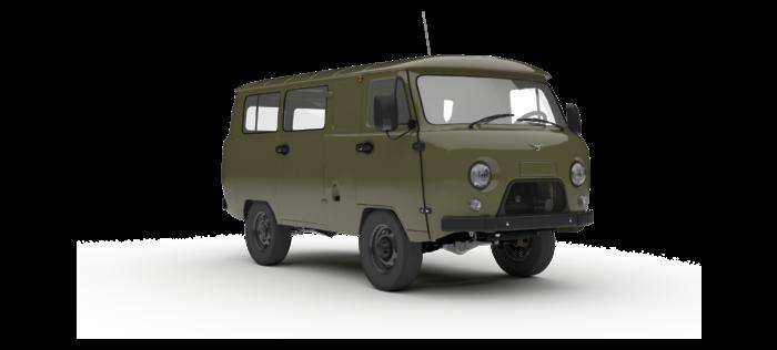 УАЗ Остекленный фургон 2.7 5MT (112 л.с.) Стандарт 552-05