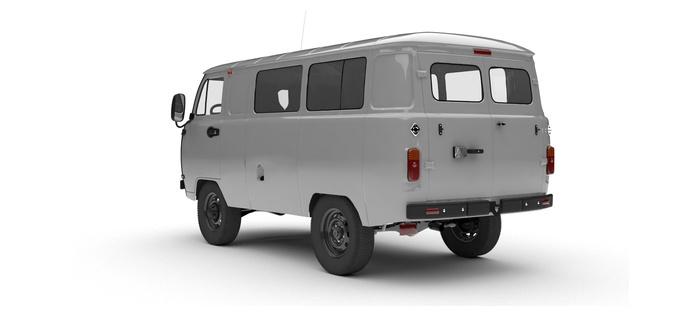 УАЗ Остекленный фургон 2.7 5MT (112 л. с.) Стандарт