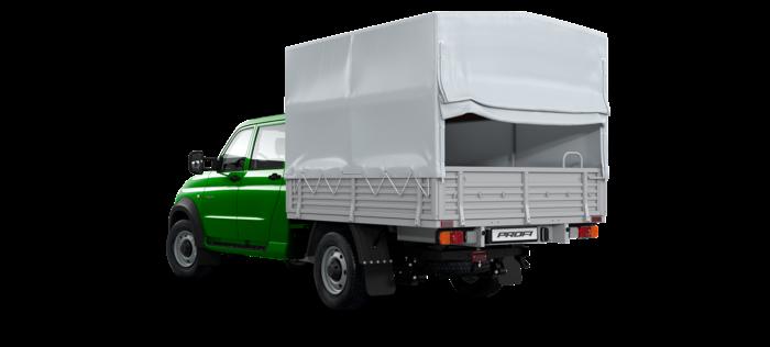 УАЗ Профи DC 2.7 MT (149,6 л.с.) 4х4 Комфорт 4х4