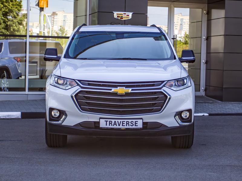 Chevrolet Traverse 3.6 AT AWD (314 л.с.) LT