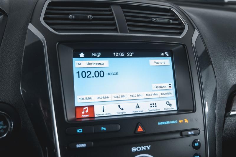 Ford Explorer 3.5 SelectShift 4WD (249 л. с.)